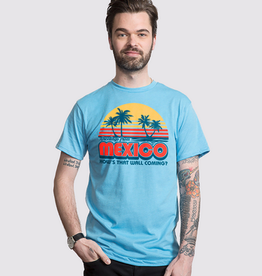 Headline Greetings From Mexico T-Shirt