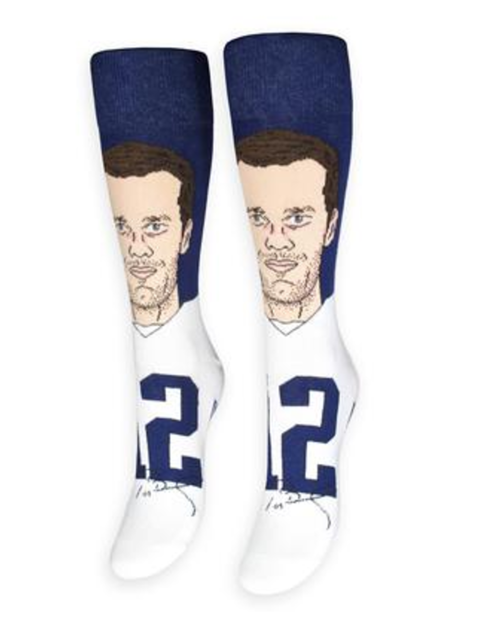 Tom Brady Football Socks