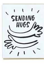 Sending Hugs Greeting Card