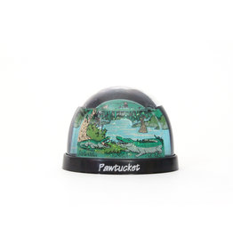 Pawtucket Gator Waterglobe