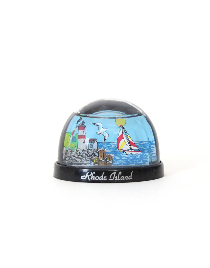 Sojourn Souvenirs RI Lighthouse Waterglobe