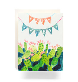 Oh Baby Bunting Greeting Card