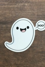 Andreakdoodles Boo Ghost Vinyl Sticker