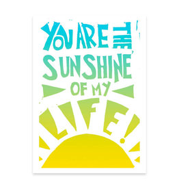 Foreignspell Sunshine of My Life Greeting Card