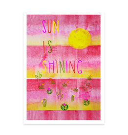 Sun is Shining Greeting Card