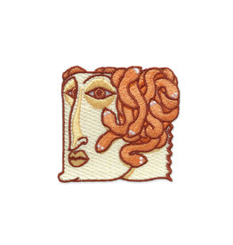 Paper Shuttle Medusa Head Patch
