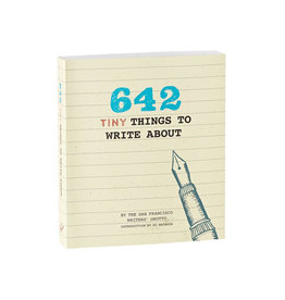 Chronicle Books 642 Tiny Things To Write About