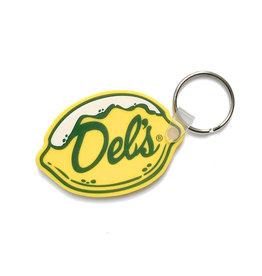 Del's Lemonade Del's Lemon Keychain