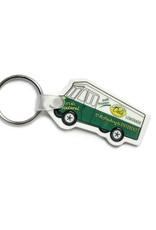 Del's Lemonade Truck Keychain