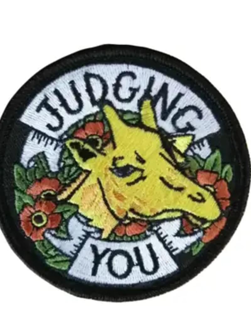 Brandy Bingham Judging You Giraffe Patch