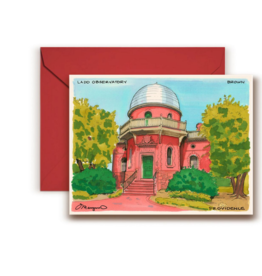Maryann Fenton Ladd Observatory, Brown University Greeting Card