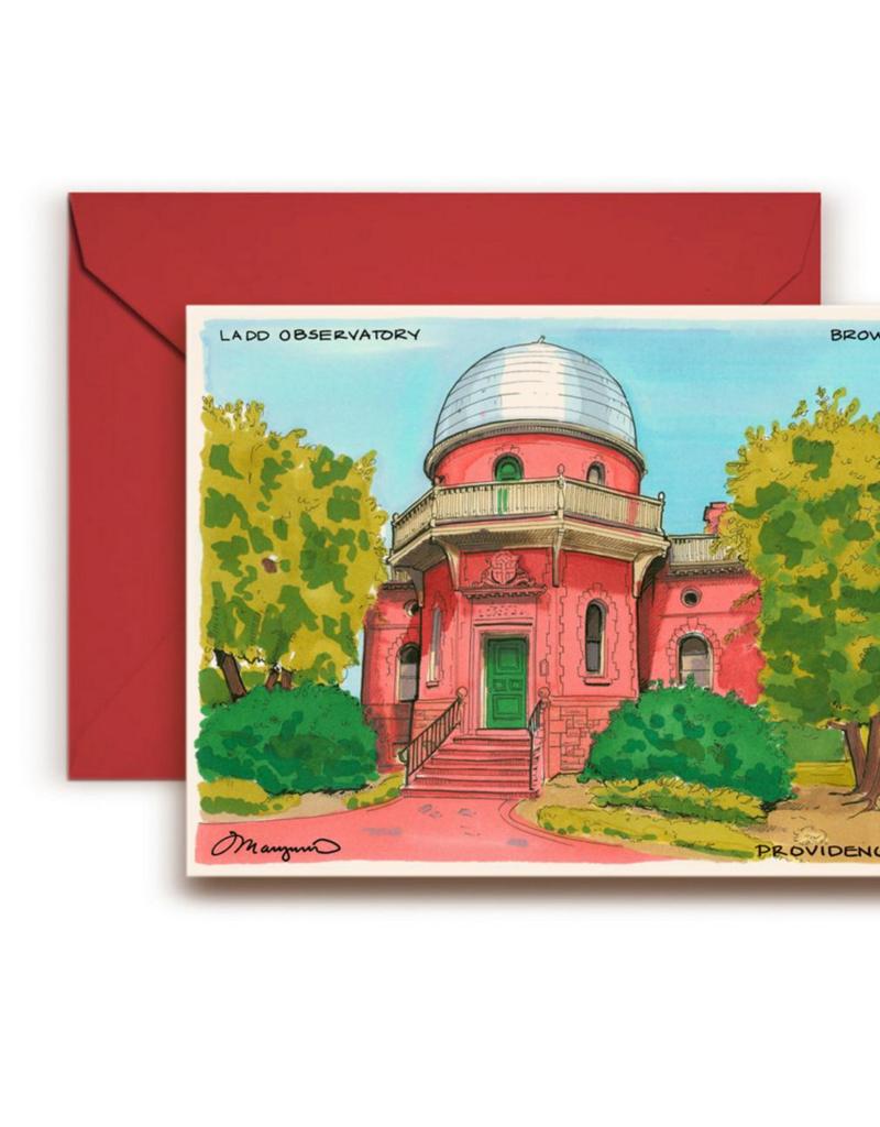 Maryann Fenton Ladd Observatory, Brown University Greeting Card