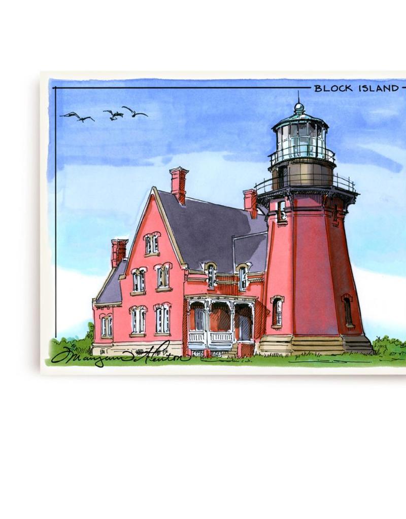 Maryann Fenton Block Island Framed Print