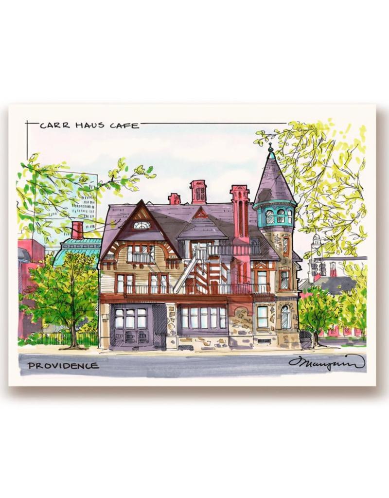 Maryann Fenton Carr Haus Framed Print
