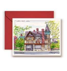 Maryann Fenton Carr Haus Greeting Card