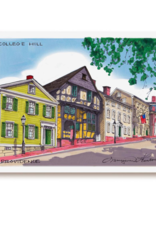 Maryann Fenton College Hill Framed Print
