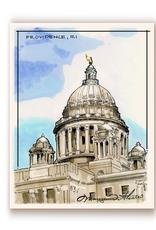 Maryann Fenton State House Print