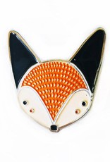 Gingiber Fox Enamel Pin