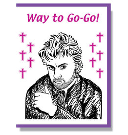 Way to Go-Go! Greeting Card