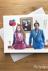 Beyonce & Jay-Z Party Greeting Card