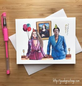 YeaOh Greetings Beyonce & Jay-Z Party Greeting Card