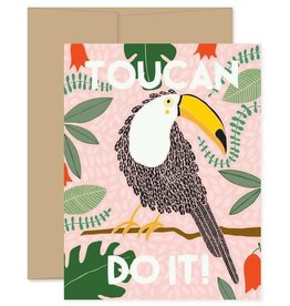Toucan Do It! Greeting Card