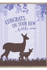 Modern Printed Matter Congrats on Your New Little One Greeting Card