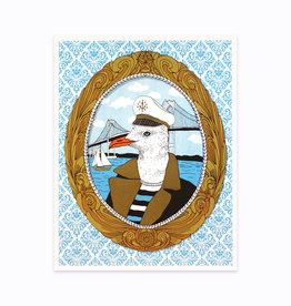 Nate Duval Seagull Captain Print