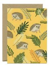 Yeppie Paper Hedgehog Everyday Greeting Card