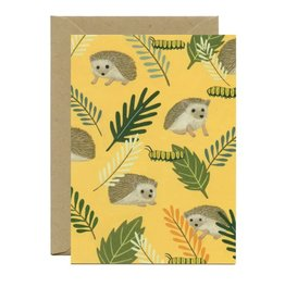 Yeppie Paper Hedgehog Everyday Greeting Card