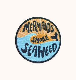 Wild Rose Mermaids Smoke Seaweed Patch