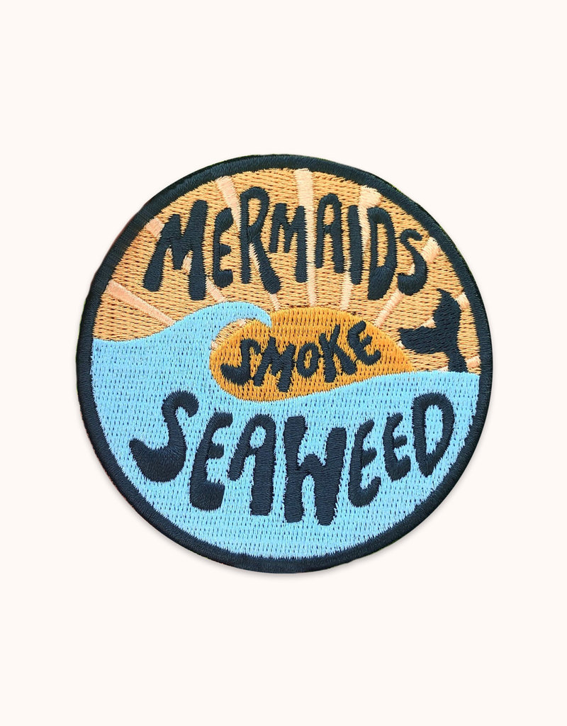 Wild Rose Mermaids Smoke Seaweed Patch