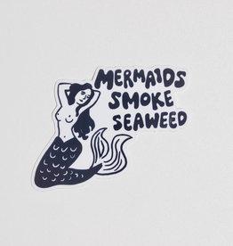 Wild Rose Mermaids Smoke Seaweed Sticker (die-cut)