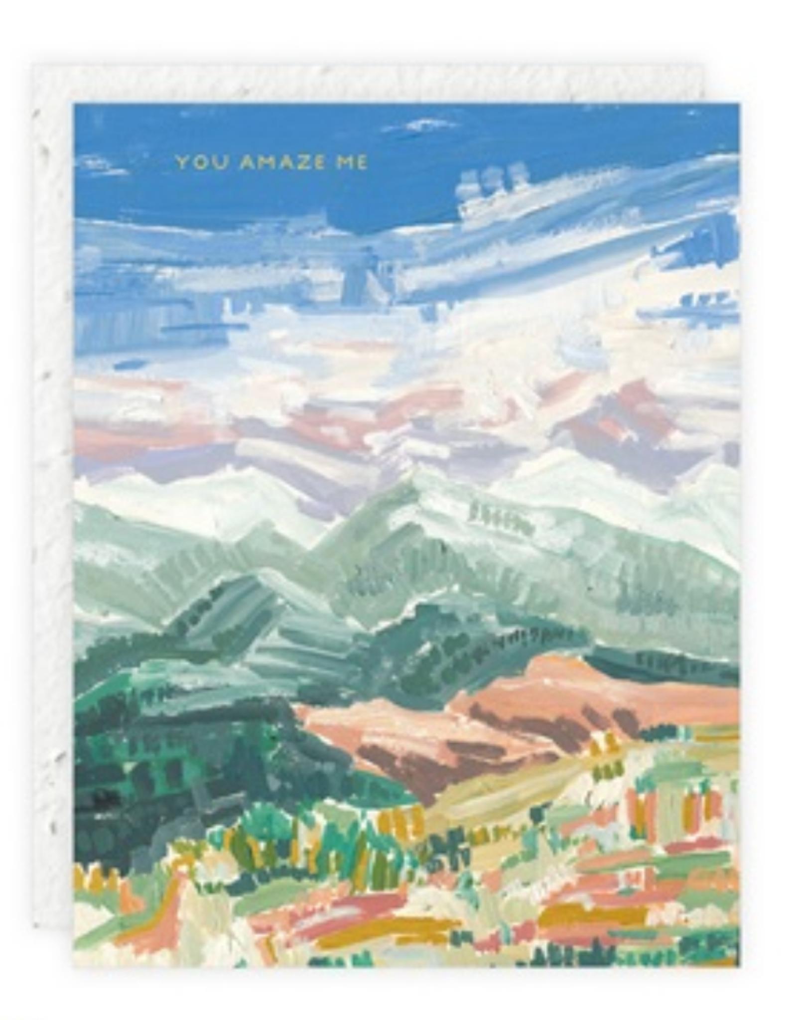You Amaze Me Greeting Card