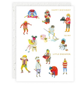 Happy Birthday to My Little Dreamer Greeting Card