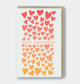 Pike Street Press Happy Anniversary (hearts) Greeting Card