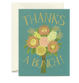 Thanks a Bunch Greeting Card