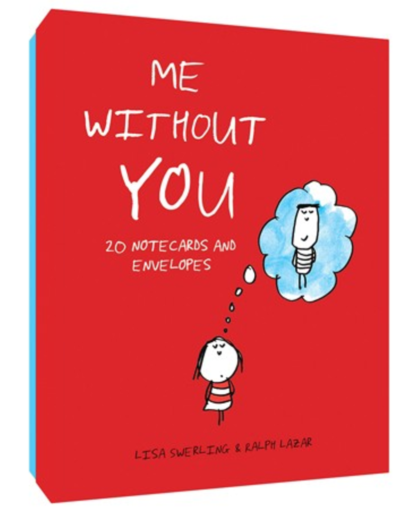 Chronicle Books Me Without You Notecards