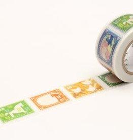 Sweet Bella Postage Stamp Washi Tape