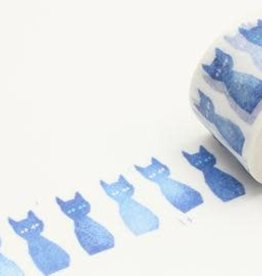 Sweet Bella Blue Cat Washi Tape
