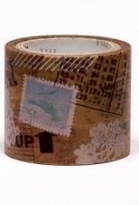 Sweet Bella Collage Wax Paper Washi Tape
