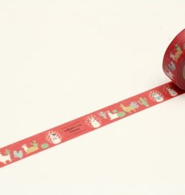 Sweet Bella Cheeky Little Llama Washi Tape