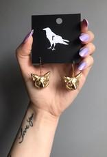 Ravenstone Fox Earrings