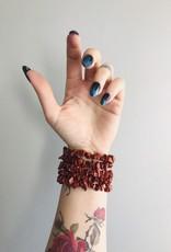 Ravenstone Red Jasper Stretch Bracelet