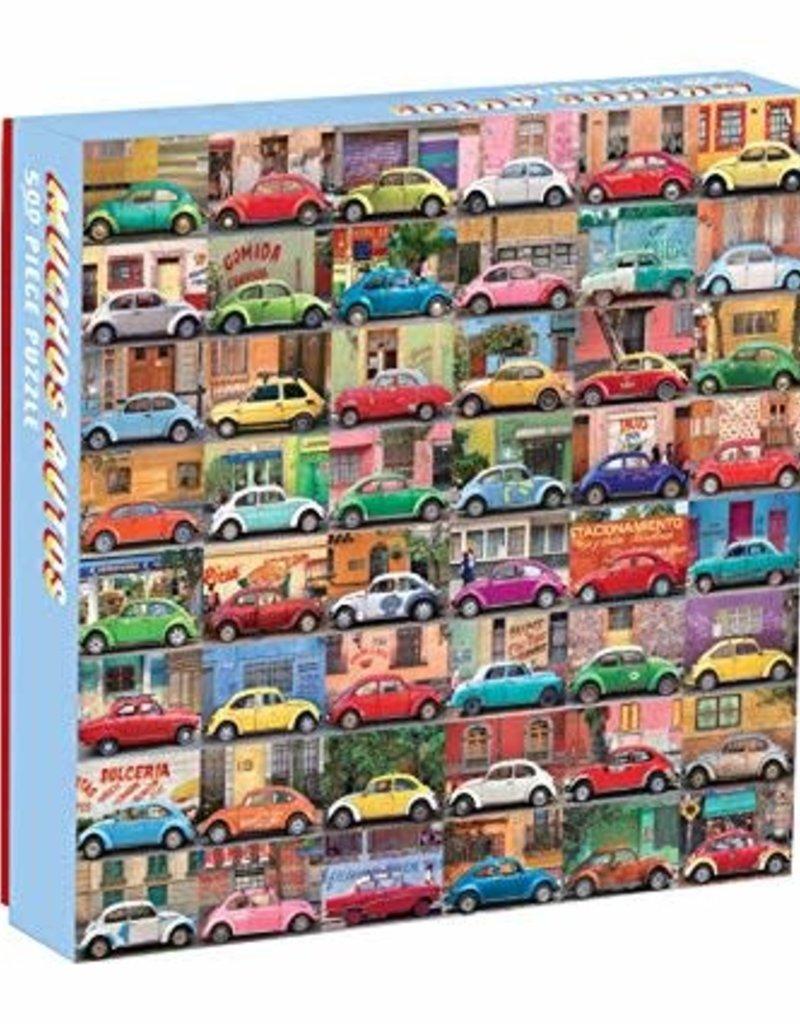 Chronicle Books Muchos Autos 500pc Puzzle