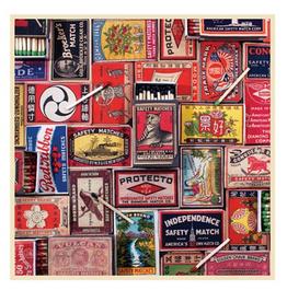 Galison Vintage Matchboxes Puzzle 500 Pieces