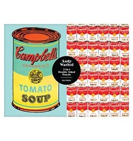 Galison Andy Warhol 2 in 1 Double Sized Puzzle