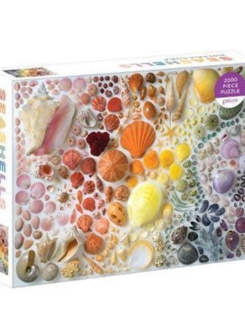 Galison Seashells 2000 Piece Puzzle