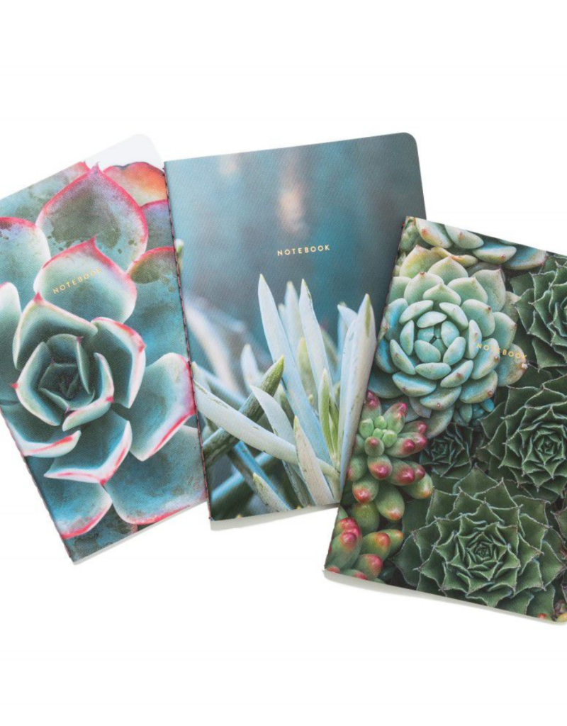 Chronicle Books Succulent Garden Notebook Set