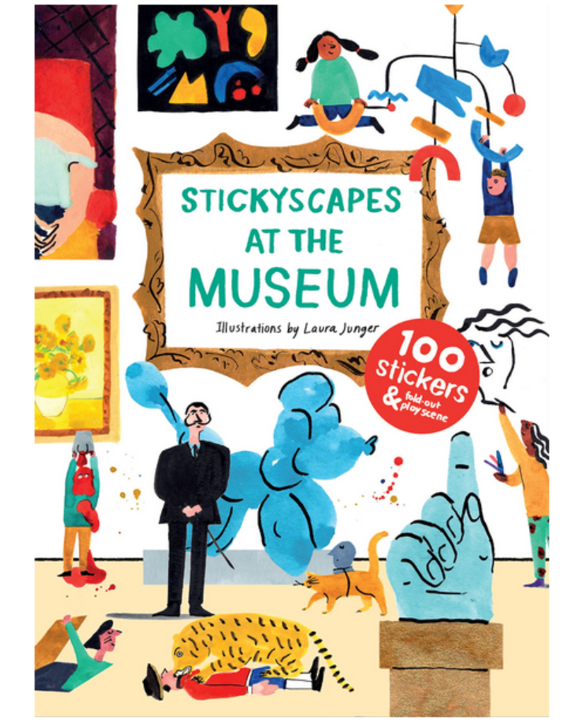 Laurence King Publishing Stickyscapes at the Museum
